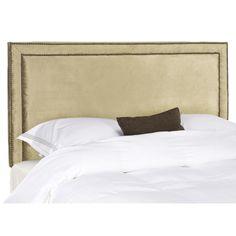 Safavieh Cory Champagne Gold Full Headboard | Overstock.com