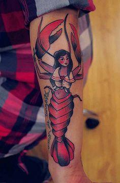 Mermaid lobster?