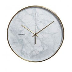 Structure Marble Wanduhr