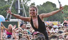 Spirits refuse to be dampened despite mud and wet at V festival