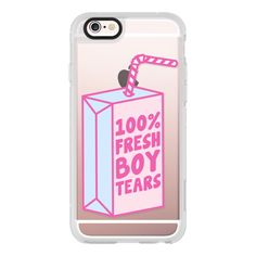 iPhone 6 Plus/6/5/5s/5c Case - Fresh Boy Tears ($40) ❤ liked on Polyvore featuring accessories, tech accessories, phone cases, phone, iphone case, apple iphone cases, iphone hard case and iphone cover case