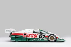 This Jaguar XJR-9 is a works car, chassis #388 and was originally built for the 1988 IMSA GT Championship.