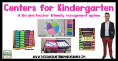 How I Run My Centers for Kindergarten