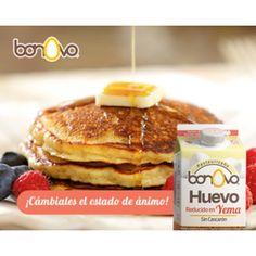 Empieza el día con todo lo bueno. #Bonovo #SaldelCascarón #Huevos #Cocina #Food #Comida #Delicioso #Desayuno