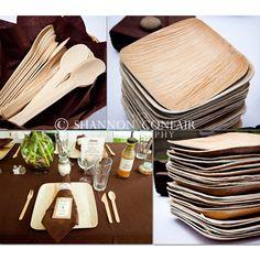 verterra = dinnerware from fallen leaves