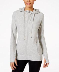 Ideology Zip Hoodie, Only at Macy's - Jackets & Blazers - Women - Macy's