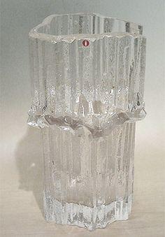 Tapio Wirkkala Glass Design, Design Art, Alvar Aalto, Antique Glass, Scandinavian Design, Finland, Vintage Designs, Art Nouveau, Mid-century Modern