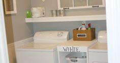 Small Laundry Room Ideas | Laundry Room Design Ideas: Laundry Room Designs Ideas, Laundry Room ...