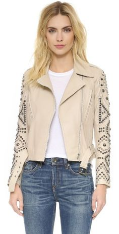 Nour Hammour The Tribute Motorcycle Leather Jacket   SHOPBOP
