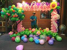Balloon Gate, Balloon Backdrop, Balloon Columns, Ballon Decorations, Balloon Centerpieces, Birthday Party Decorations, Indian Birthday Parties, Balloon Pictures, Photo Balloons