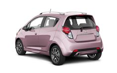 2013 Chevy Spark- comes in pink, no need to say more!