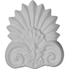 Ekena Millwork Genova 3 x 5 Onlay Center (Set of Corner Moulding, Panel Moulding, Chair Rail Molding, Wall Trim, Ceiling Medallions, Wood Pieces, Fireplace Mantels, Vintage Farmhouse, Accent Pieces