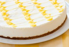 Italský citrusový cheesecake