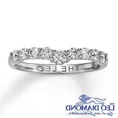 Leo Diamond Engagement Wedding Ring Set