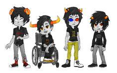 Aradis, Tavras, Seilix, and Karket
