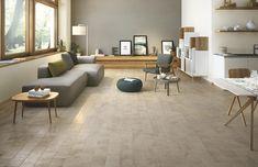 Milestone: Stone effect veins and nuances | Ragno Wood Effect Tiles, Boden, Wooden Flooring, Neutral Colors, Wall Tiles, Stone Tiles, Tudor, Porcelain Tile, Stoneware