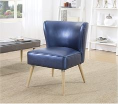 Metallic Faux Leather Chair | National Business Furniture