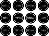 Resultado de imagen para etiquetas para condimentos de cocina