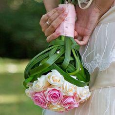 Woven Dream Rose Wedding Bouquet
