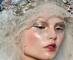 a0ac8e3c87b Ghost Bride, Makeup Course, Thin Eyebrows, John Galliano, Makeup Inspo,  Givenchy