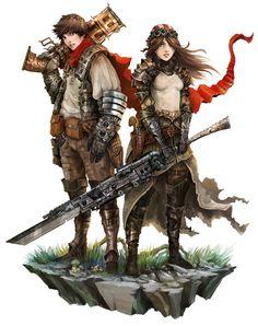 Human Couple - Shattered RPG by Eyardt on DeviantArt