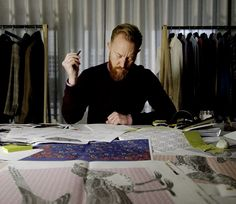 Dean Gomilsek-Cole joined T&A as Head of Design in June 2013. Looking to reinvigorate the brand's status as the 'Peacocks of Jermyn Street', he has showcased the brand's love for eccentricity in a thoroughly British way, gaining inspiration from mysterious places and age-old tales.