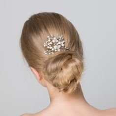 Pearl Bridal Hair Pin | Statement | Lily Luna