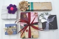 5 Construction Paper Gift Wrapping Ideas