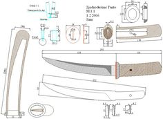 Knife Drawing, Knife Template, Japanese Blades, Knife Patterns, Cold Steel, Weapons Guns, Fixed Blade Knife, Custom Knives, Ideas