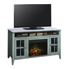 Found it at Wayfair - Bess TV Stand with Electric Fireplace
