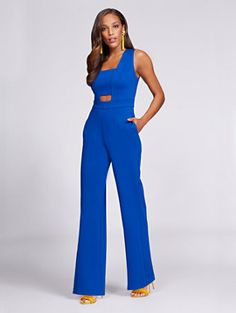 Shop Gabrielle Union Collection – Cut Out Jumpsuit. Find your perfect size online at the best price at New York & Company.
