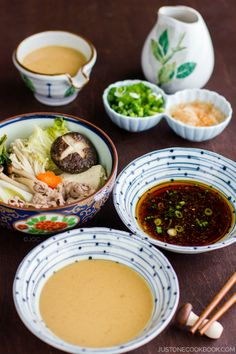 Shabu Shabu is a popular Japanese-style hot pot where the meat and assorted vegetables are cooked in a flavorful broth called kombu dashi. Veal Recipes, Asian Recipes, Cooking Recipes, Healthy Recipes, Indonesian Recipes, Orange Recipes, Vietnamese Recipes, Chinese Recipes, Mexican Recipes