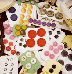 Look at all the magnificent buttons!