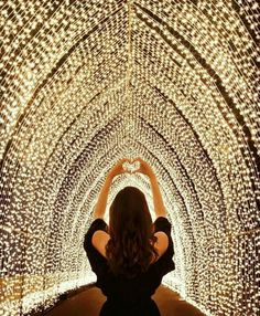 """Vivid Sydney"" Cloaks the Australian City in a Spectacular Display of Vibrant Lights - Photo credit: Tara Milk Tea Twinkle Lights, Twinkle Twinkle, Backdrop Decorations, Backdrops, Wedding Stage Decorations, Tara Milk Tea, Couple In Love, Desi Wedding Decor, Wedding Ideas"