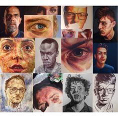 A level art Portraits