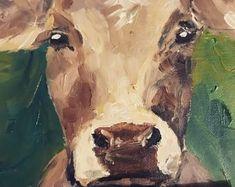 Irish Design farmed in Ireland by IrishFarmArt on Etsy Funny Pigs, Irish Design, Cattle Farming, Farm Art, Cow Art, Beautiful Paintings, Original Artwork, Ireland, Etsy
