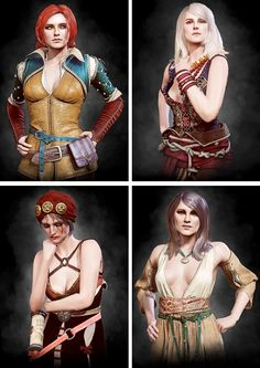 Witches http://the-witcher.tumblr.com/