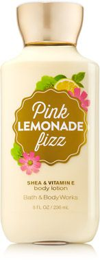 Pink Lemonade Fizz Body Lotion - Signature Collection - Bath & Body Works