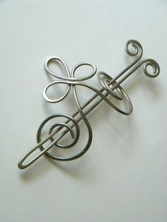 Silver, Bridal Hair Comb, Hair Barrettes, Barrette, Silver Hair Clip, Hair Pins, Hair Stick, Sticks, Hair Accessories, Metal Clip, Pin, Fork on Etsy, $22.50