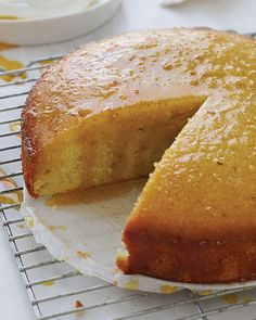 "Orange and Almond Cake by Donna Hay - This recipe is from Donna Hay's book ""The New Easy""."