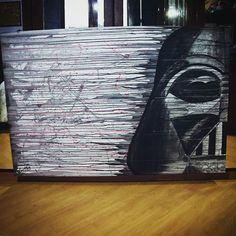 Darth Vader aquarela 💛
