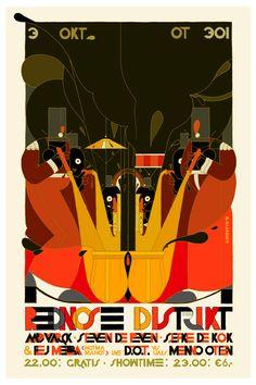 Poster art by Stefan Glerum
