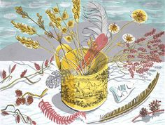Angie Lewin, The Yellow Cup