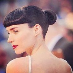 Rooney Mara, hair is flawless