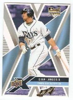 """FREE SHIP""  Evan Longoria   2008  Upper Deck  ROOKIE, Tampa Bay Rays"