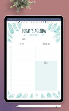 Daily To Do Planner template for each day. Devote your energy only to what must be done today and discover how much more efficient you'll be in every stage of life. All planners are available in four sizes: A4; A5; US Letter Size; Half Letter Size. They are can use for your iPad. #daily #planner #template #to-do #list To Do Planner, Goals Planner, Planner Pages, Happy Planner, To Do Lists Printable, Daily Planner Printable, Printables, List Template, Planner Template