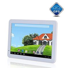 """10.1"""" 32GB Android 4.4 KitKat [QUAD CORE] Tablet with GPS, Dual Cameras, HDMI, Bluetooth - WHITE - https://electronikz.com/10-1-32gb-android-4-4-kitkat-quad-core-tablet-with-gps-dual-cameras-hdmi-bluetooth-white/ - #Android, #Tablets"""