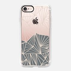 Ab Fan Grey And Nude Transparent -  #casetifyiphone7 #iphone7 #geometric #abstract