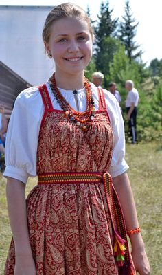 #russiantraditional #russian #russiancostume Russian traditional folk costume русский традиционный народный костюм