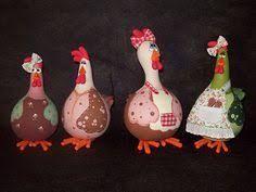 Resultado de imagem para galinhas em biscuit